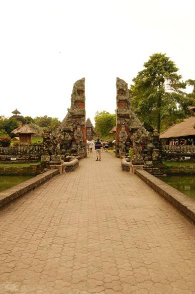 Entrance to Pura Taman Ayun
